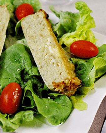 Recettes françaises :  Gâteau de pommes de terre aux oignons et au camembert