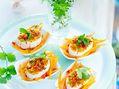 Recette : Bouchées apéritives au fromage, chorizo, carotte et pois chiches - Rec...