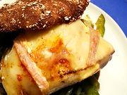Recette : Petits pains au maroilles, poulet et poivron - Recette au fromage