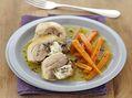 Recette : Cuisses de poulet farcies au bleu - Recette au fromage