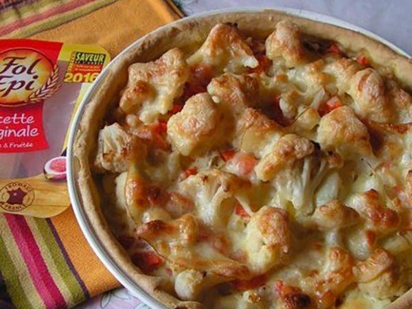 Tartes salées et sucrées au fromage :  Tarte aux légumes et fromage
