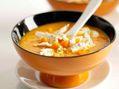 Recettes : Velouté de potiron... aux fromages de nos régions