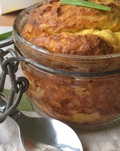 Soufflés au fromage :  Soufflé au fromage et chou-fleur