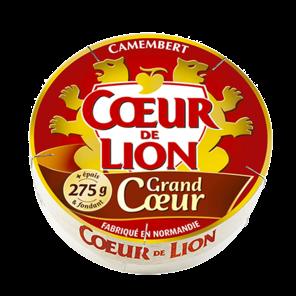 COEUR DE LION CAMEMBERT GRAND COEUR 275G