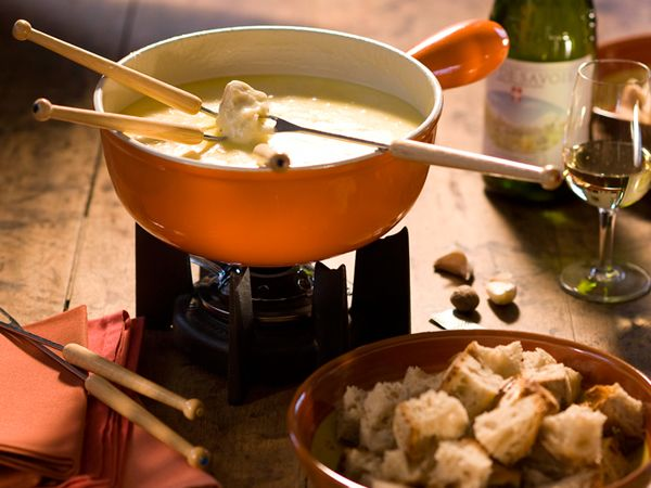 Dossier Recettes de fondues
