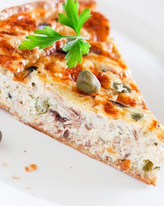Recettes de quiches au fromage :  Rillettes de thon au fromage frais et citron vert