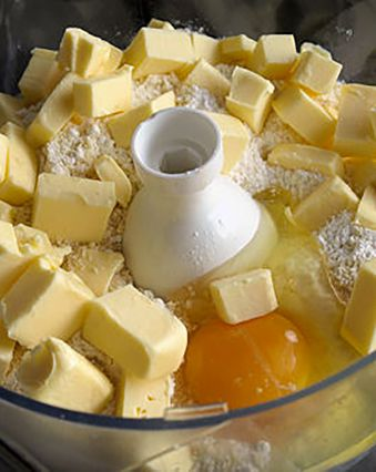 Tartes salées et sucrées au fromage :