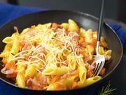 Recette : Penne au potiron et parmesan - Recette au fromage