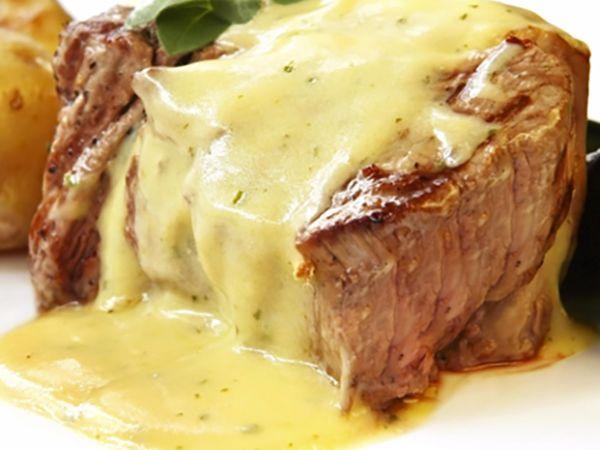 Menu de Noël :  Filet mignon de porc au Maroilles