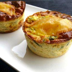 Recette : Petits flans de courgettes au Maroilles - Recette au fromage