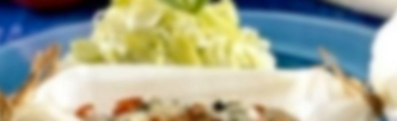Recette Papillote de cabillaud au bleu - Recette au fromage