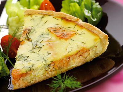Tartes salées et sucrées au fromage : Recettes pour déjeuner nomade: pas quiche, ma tarte au Chavroux®!