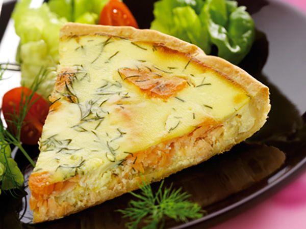 Recettes au fromage frais : Recettes pour déjeuner nomade: pas quiche, ma tarte au Chavroux®!