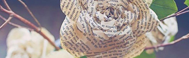 DIY : Qui veut lire un bouquin de fleurs ?