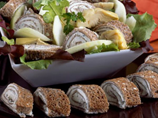 Recettes au fromage frais : Recettes de galettes au sarrasin: quand Carré Frais® vous inspire