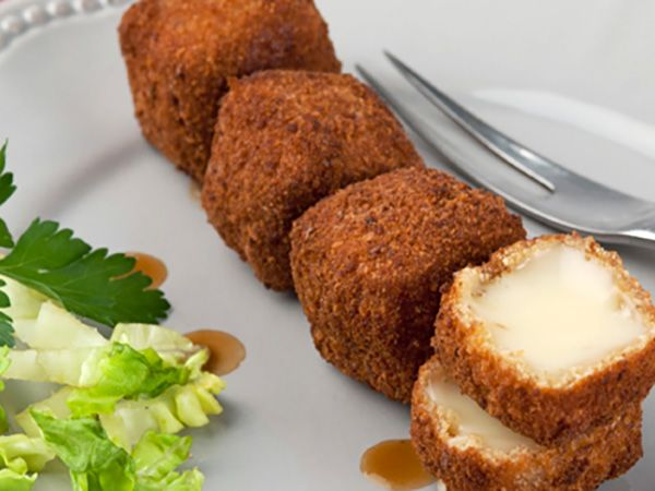 Recette : Beignets croustillants de fromage - Recette au fromage