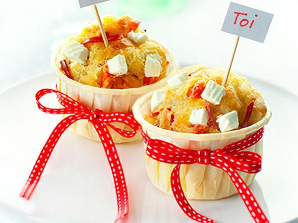 Recette : Muffins Toi et Moi au fromage frais - Recette au fromage