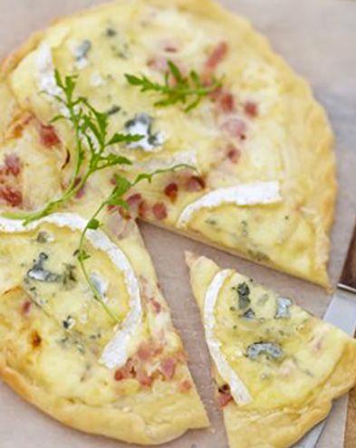 Tartes salées et sucrées au fromage :  Tartelettes croustillantes aux épinards et au bleu