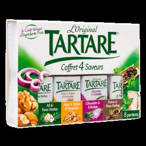 TARTARE COFFRET 4 SAVEURS 8 PORTIONS 133G