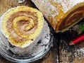 Recette : Gâteau roulé au chocolat et fromage frais - Recette au fromage