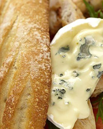 Sandwichs :  Sandwich au poulet grillé et fromage bleu