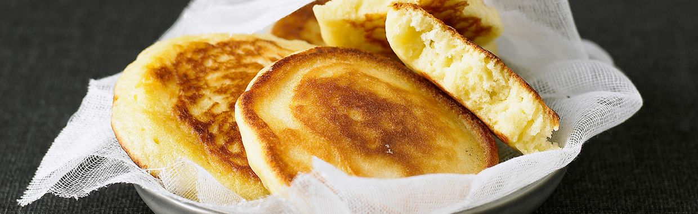 Recette Pancake au fromage blanc - Recette au fromage