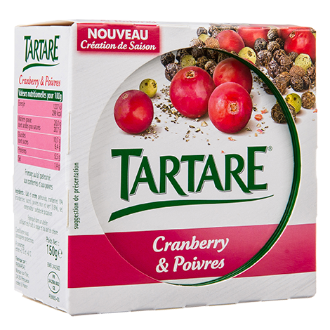 TARTARE CREATION DE SAISON POT 150G