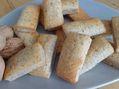 Recette : Financiers aux noix, miel de châtaignier et fromage frais - Recette au...