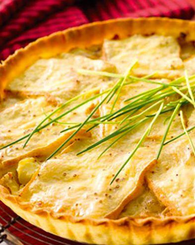 Raclette :  Gratin de chou-fleur au fromage à raclette