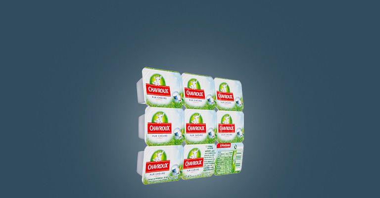 CHAVROUX 9 PORTIONS 162G : caractéristiques et apports nutritionnels