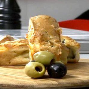 Recette : Financiers aux olives et au fromage - Recette au fromage
