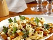 Recette : Poêlée de carottes au poulet et fromage - Recette au fromage