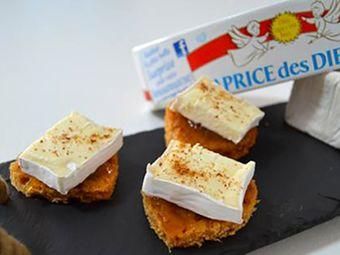 Recette : Toast de pain d'épice au fromage - Recette au fromage