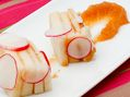 Recette : Millefeuille de fromage de brebis à la pâte de coing et radis - Recett...