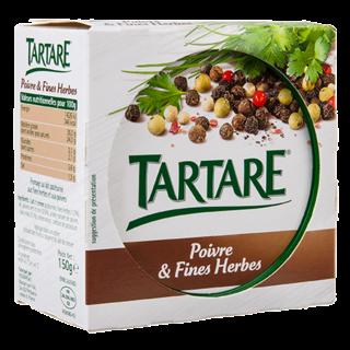 TARTARE POIVRE ET FINES HERBES POT 150G