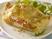 Recette : Feuilletés au poulet et au fromage frais - Recette au fromage