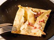 Recette : Crêpes savoyardes au fromage à raclette - Recette au fromage