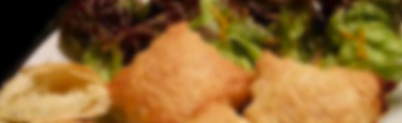 Recette Ravioles feuilletées au bleu, pomme et zeste d'orange - Recette au froma...