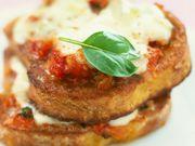 Recette : Pain perdu à l'italienne - Recette au fromage