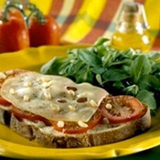 Recette : Bruschettas au fromage - Recette au fromage