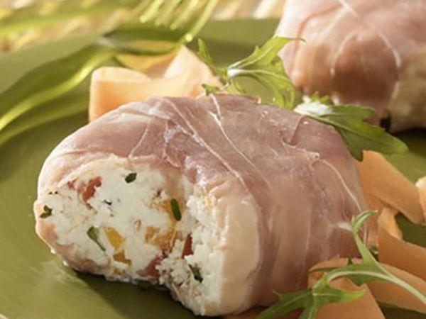 Recettes légères au fromage :  Salade de roquette printanière au fromage
