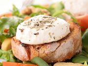 Recette : Tartines faciles au fromage gratiné et à l'ail - Recette au fromage