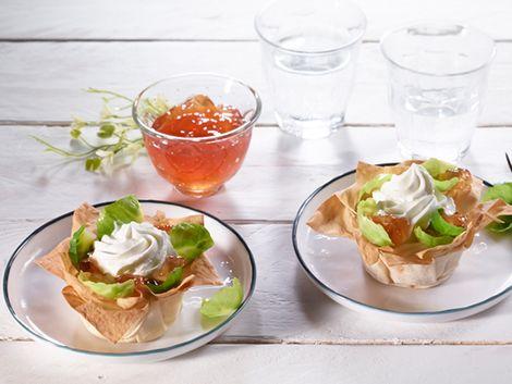 Mini tartelettes : Tartelettes salées au fromage frais: mission, recette légère!