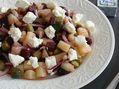 Recette : Salade de légumes au fromage frais - Recette au fromage