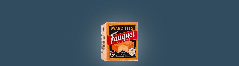 FAUQUET MAROILLES AOP COUPE 750G : caractéristiques et apports nutritionnels