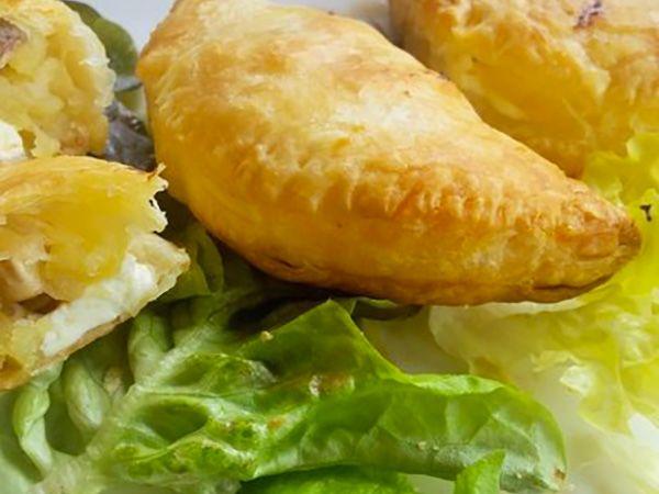Recette : Chaussons aux pommes et au fromage frais - Recette au fromage