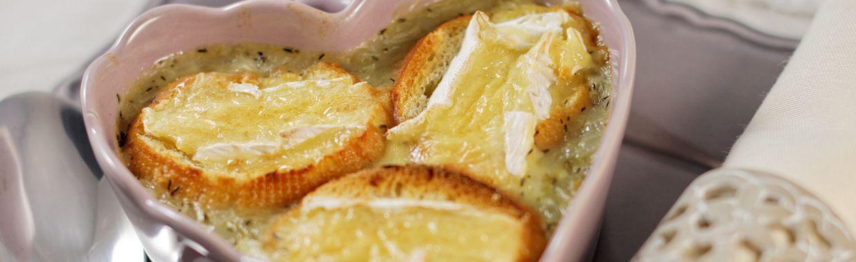 Recettes de soupes : Soupe à l'oignon gratinée : nos irrésistibles recettes
