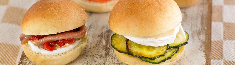 Recette Mini burgers au fromage de chèvre - Recette au fromage
