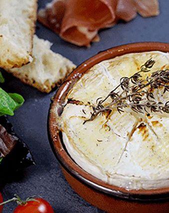 Du fromage pour twister mes légumes d'été :  Camembert au four