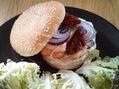 Recette : Burger au poisson et au fromage - Recette au fromage